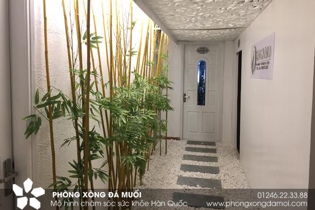 Bàn giao phòng xông muối hồng tại Hà Nội